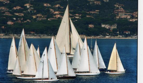 Les voiles de St-Tropez début Octobre
