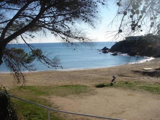 Une plage de Saint Aygulf