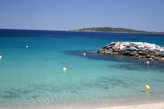 Une plage de St Maxime