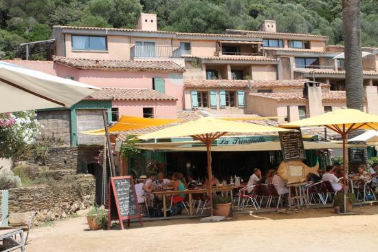 Restaurant la Trinquette, Port Cros