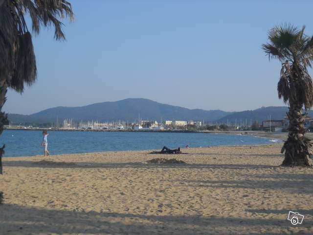 La plage du golf st Tropez
